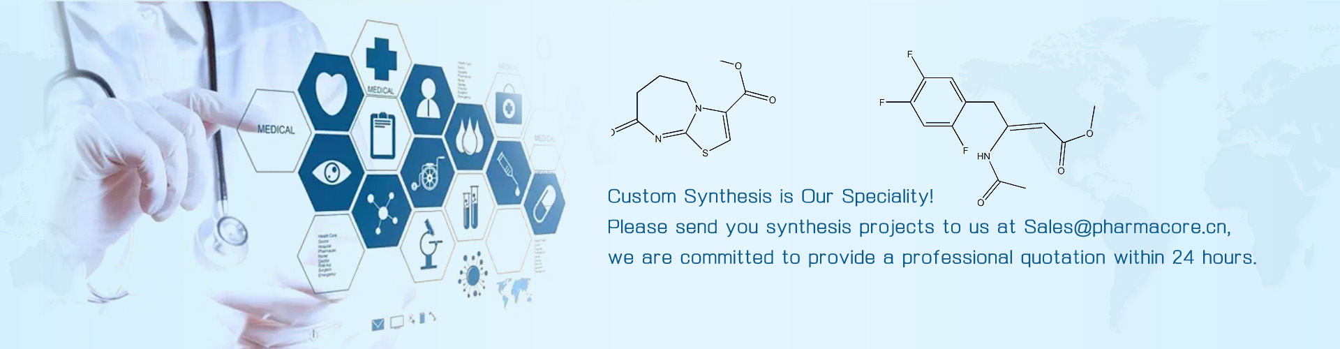Custom Synthesis banner